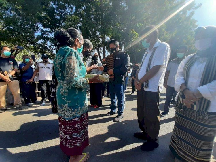 Polres Lembata Sambut Kunjungan Kerja Kapolda NTT Irjen Pol. Drs. H. Hamidin dan Ketua Bayangkari daerah NTT