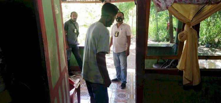 Sat Reskrim Polres Lembata Lakukan Penangkapan Kasus Pencurian