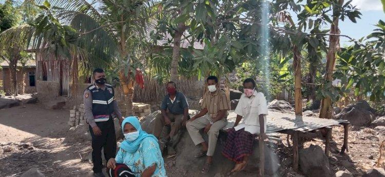 Bripka Karama berharap penyampaiannya di sebarluaskan di desa roho