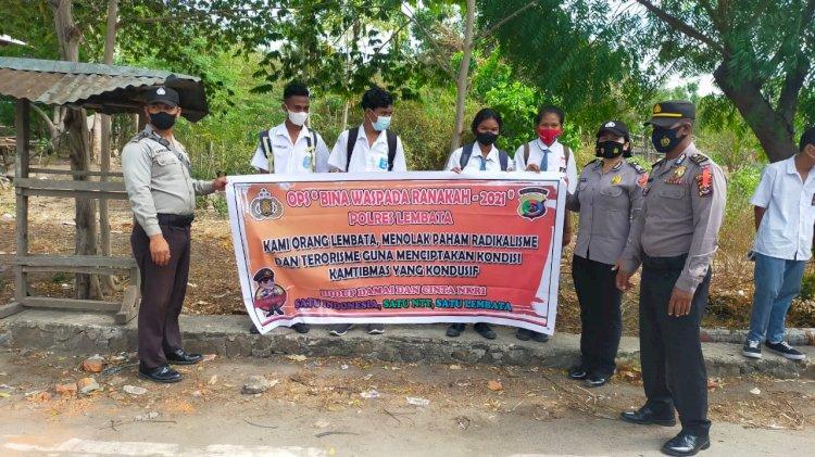 Polres Lembata Kembali Gelar Operasi Bina Waspada Ranakah 2021.