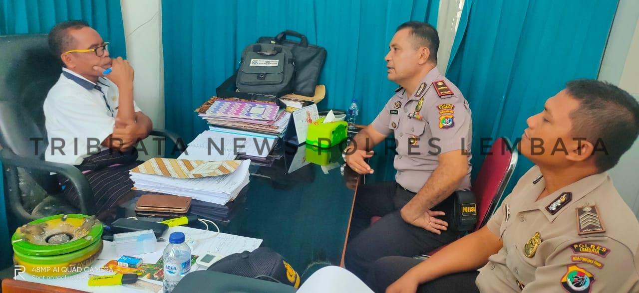 SOSIALISASIKAN PENERIMAAN SEKOLAH INSPEKTUR POLISI SUMBER SARJANA T.A 2020, SATUAN BINMAS SAMBANGI TEMPAT INI