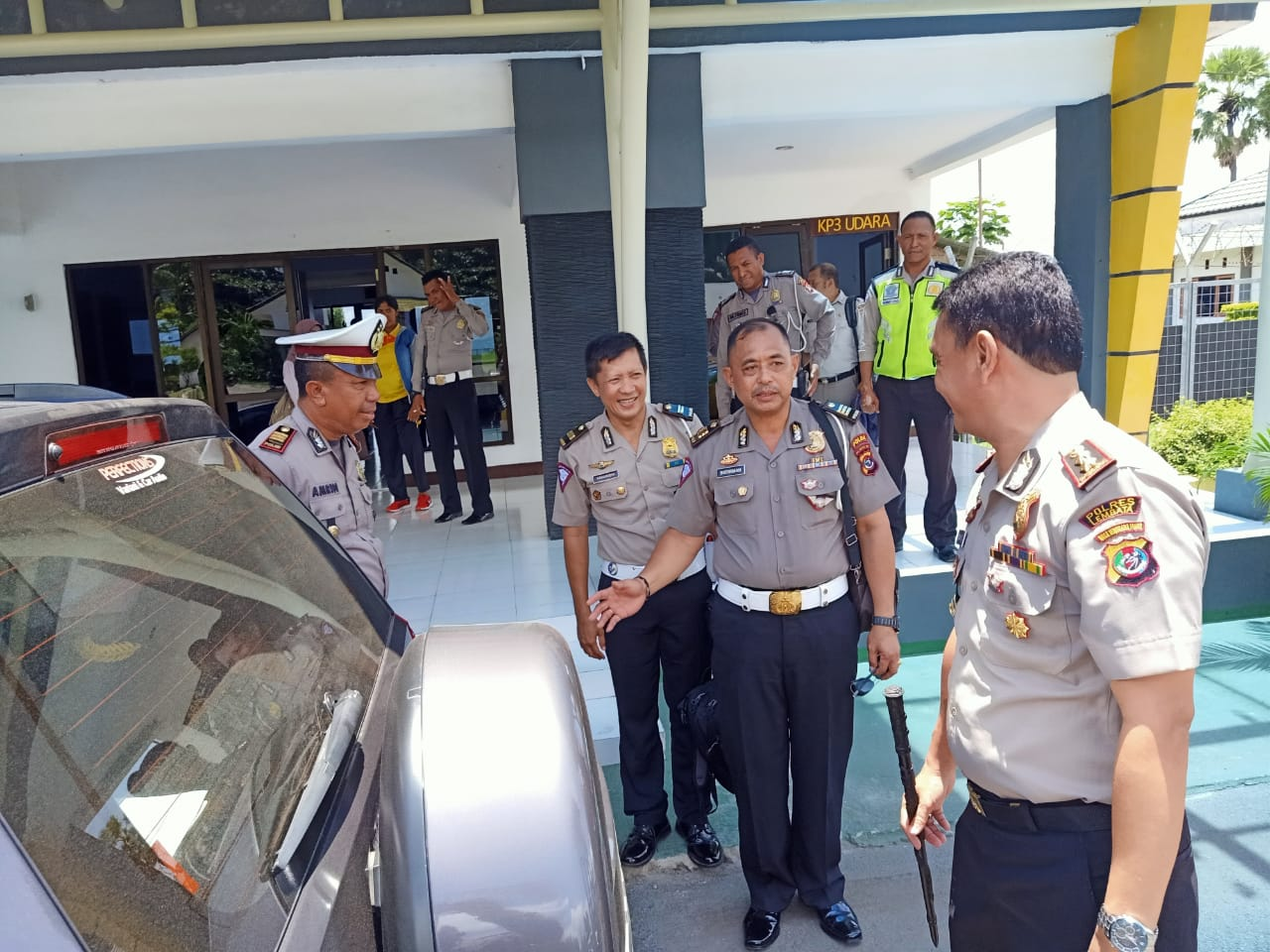 Polres Lembata Mengikuti Pelaksanaan Supervisi Direktorat Lalu Lintas Polda NTT