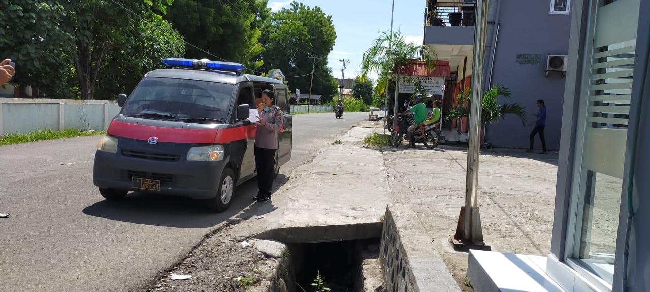 Satuan Binmas Terus berikan kiat-kiat hidup sehat kepada warga masyarakat kota lewoleba