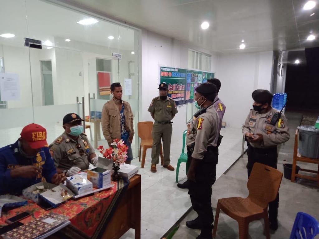 Kasat Sabhara pimpin patroli, monitoring lokasi karantina terpusat